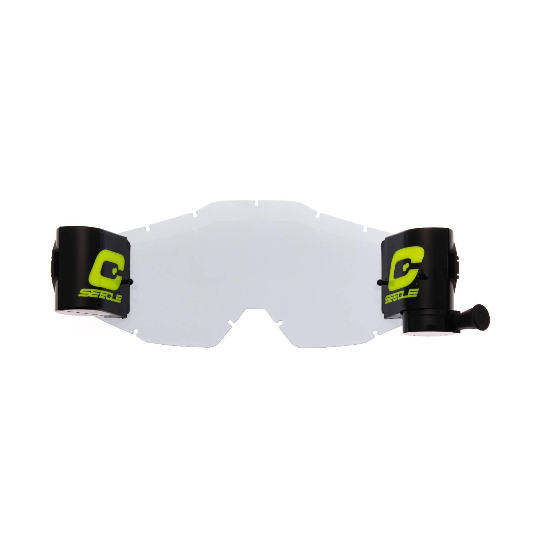 kit roll-off trasparente compatibile per occhiale/maschera 100% Racecraft / Strata / Accuri