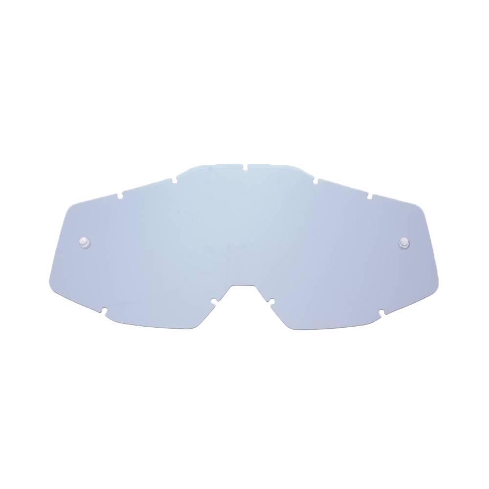 Lente di ricambio fumè compatibile per occhiale/maschera 100% Racecraft / Strata / Accuri / Mercury