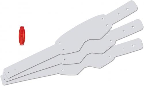 E.T.O.S. sistema ecologico di raccolta tear-off compatibile per occhiale/maschera Scott Prospect kit 20 pz