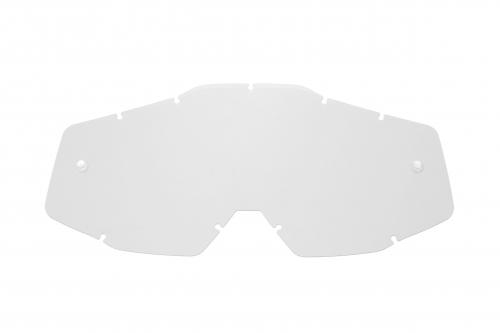 Lente di ricambio trasparente compatibile per occhiale/maschera 100% Racecraft / Strata / Accuri / Mercury