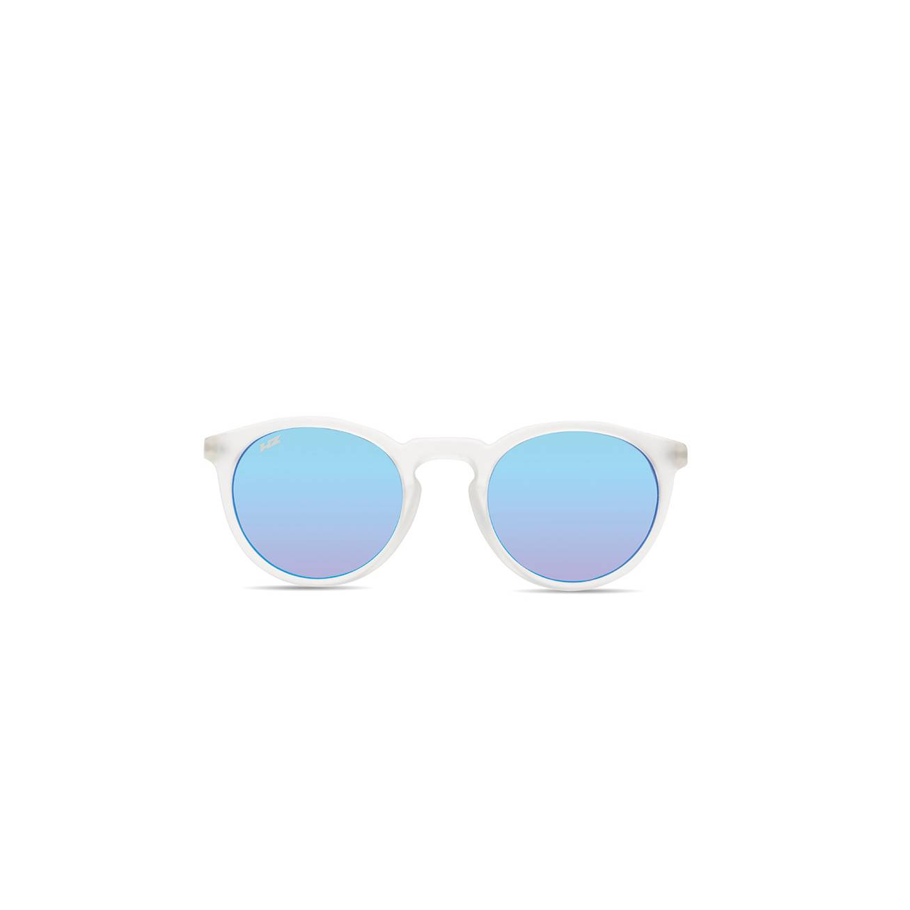 HZ Round SE-600701-HZ occhiali sportivi con lenti di colore blu specchiato