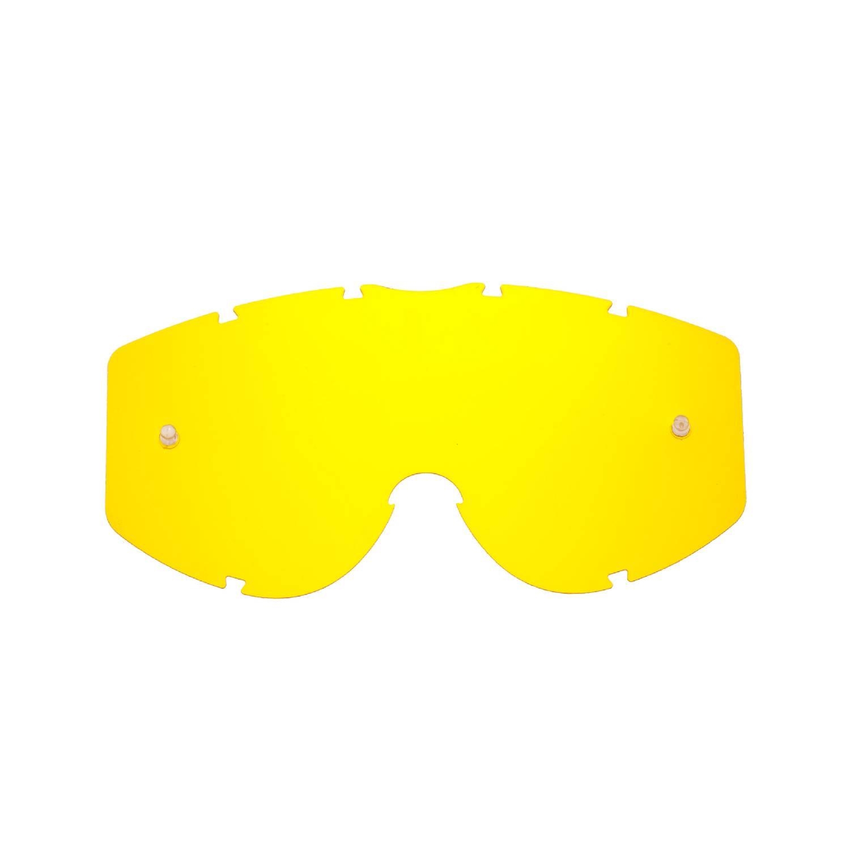 Lente di ricambio gialla compatibile per occhiale/maschera Progrip 3200 / 3450 / 3400  / 3201 / 3204 / 3301